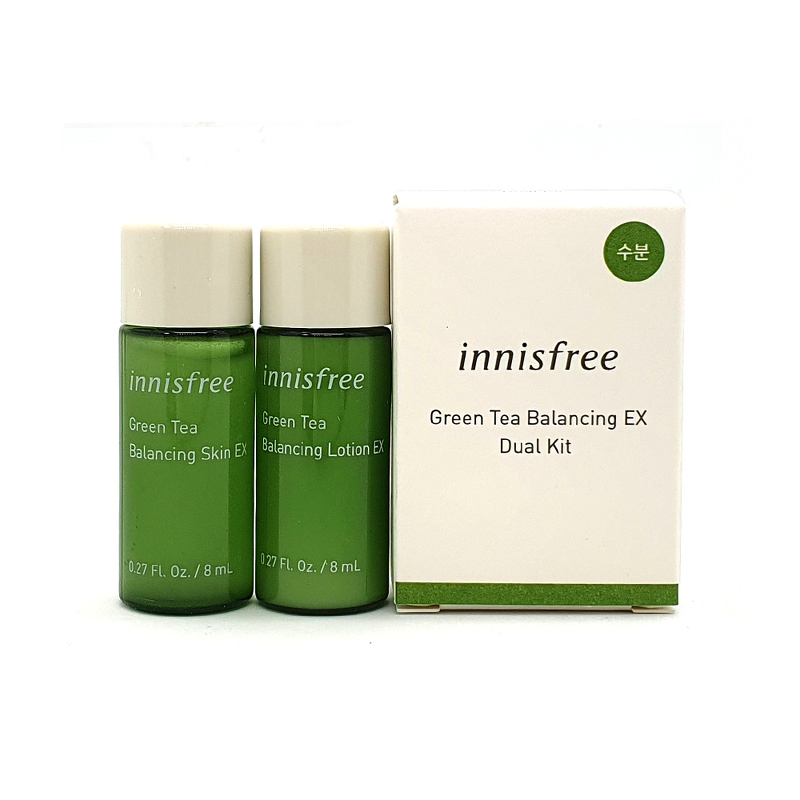 Innisfree green tea balancing dual kit 2 items
