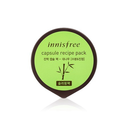 Innisfree Capsule Recipe Pack Bamboo (Sleeping Mask)